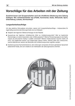 Zeitungswerkstatt: Lesetexte, Aufgaben und Lösungen komplett