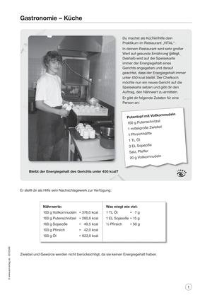 Berufsalltag - Gastronomie: