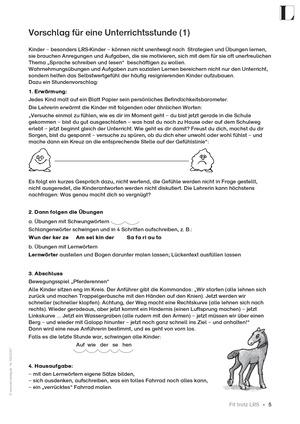 Unterrichtsvorschläge für LRS-Schüler