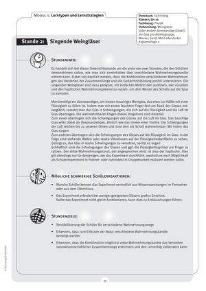 Lerntypen- und Strategien: