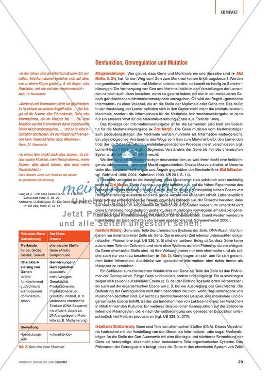 Erfreut Biologie Mutationen Arbeitsblatt Galerie - Arbeitsblätter ...