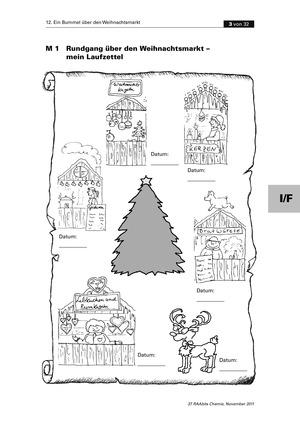 Organische Chemie an Stationen - Bummel über den Weihnachtsmarkt