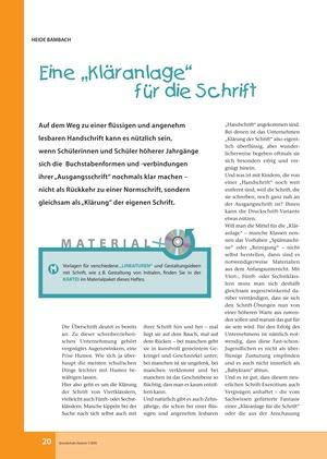 Deutsch: Arbeitsblätter Klasse 6 | meinUnterricht