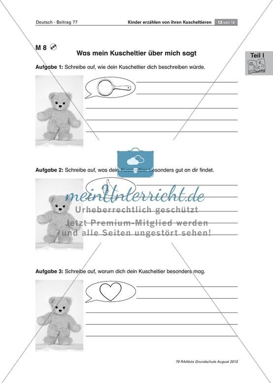 Arbeitsblätter: Deutsch Klasse 1 | meinUnterricht