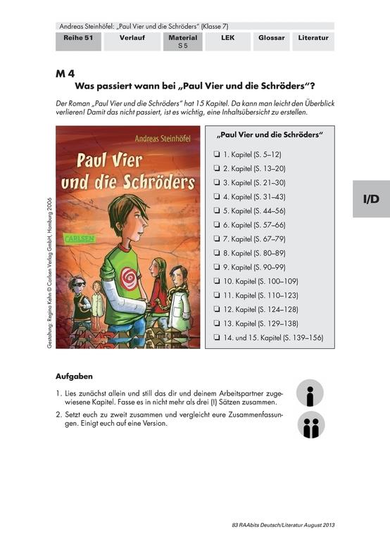 Deutsch Klasse 7: Arbeitsblätter & Übungen | meinUnterricht