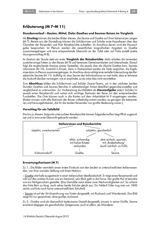 Arbeitsblätter und Übungen für Deutsch, Klasse 10 | meinUnterricht
