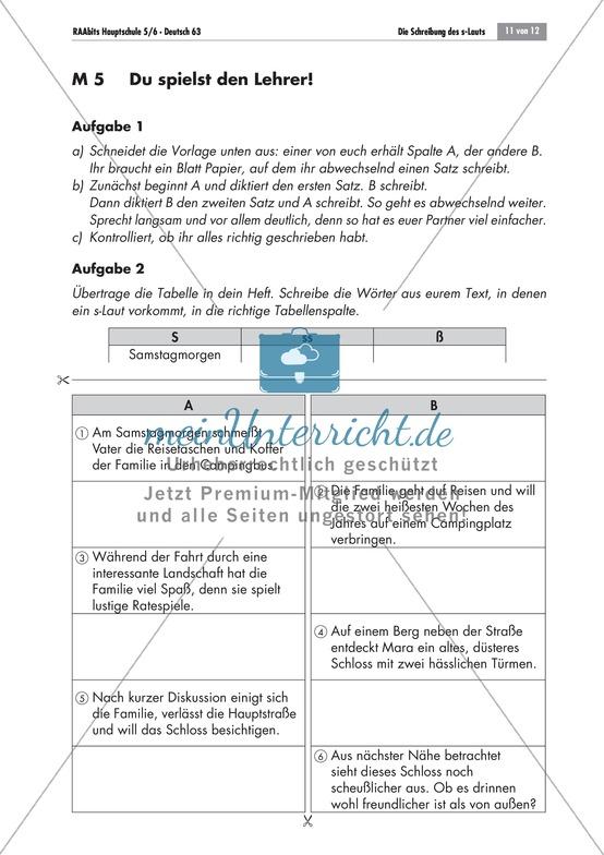 Deutsch Hauptschule | Deutsch-Material gibt es auf meinUnterricht.de