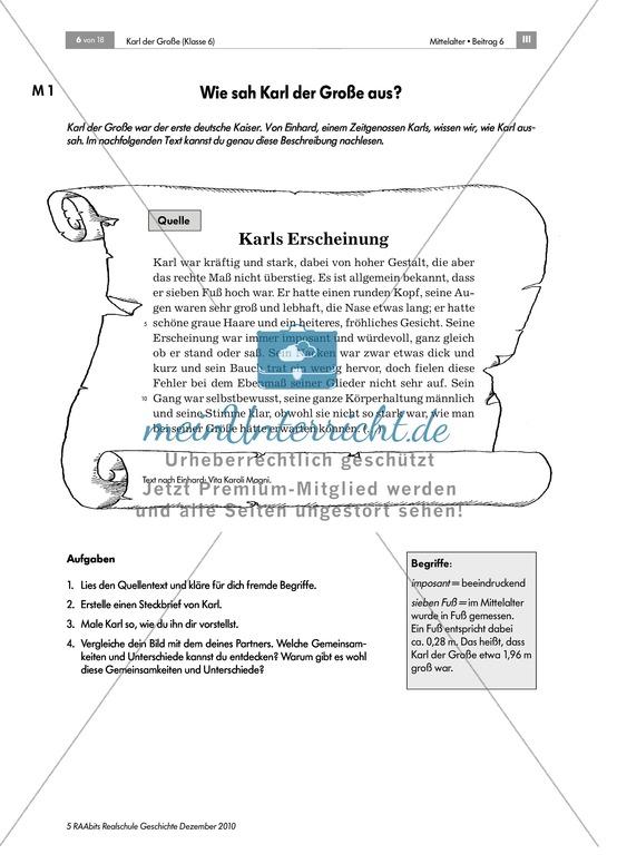 Karl der Große: Die Person