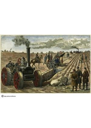 Bildmaterial Geschichte: Industrialisierung