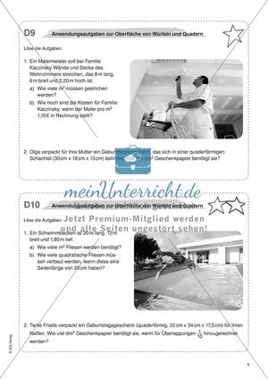 Mathematik Klasse 6: Arbeitsblätter mit Lösungen | meinUnterricht