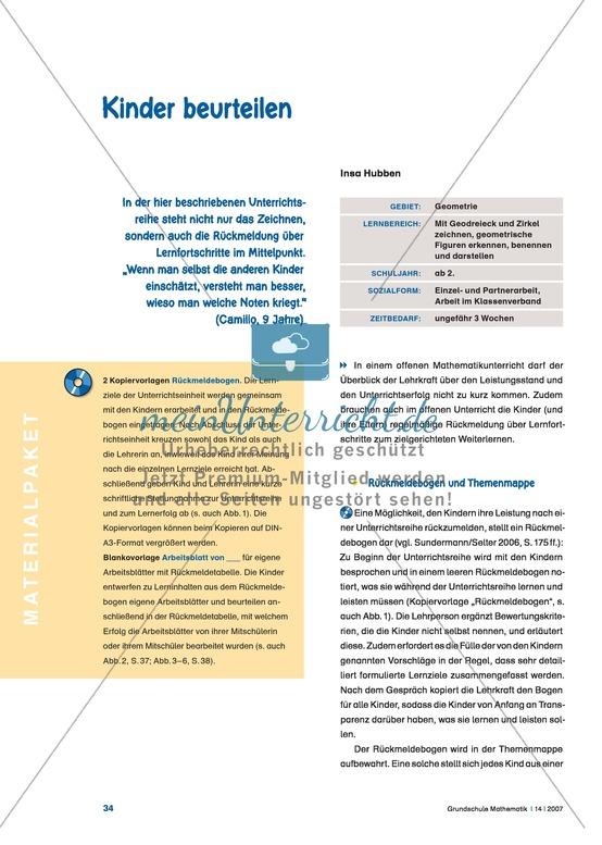 Diagnose und Selbstdiagnose von Schüler_innen