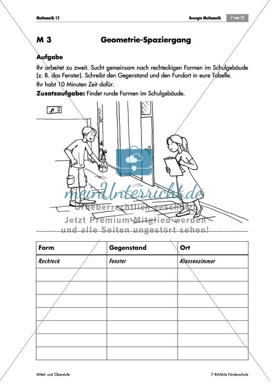 Mathematik Förderschule - Mathe-Unterrichtsmaterial zum Downloaden