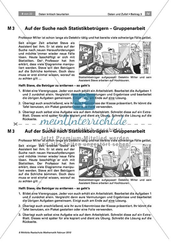 Mathematik, Klasse 8: Arbeitsblätter & Übungen | meinUnterricht