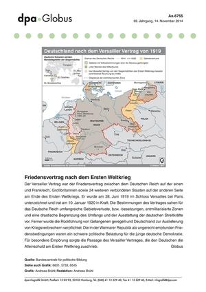 Der erste Weltkrieg: Informationen und Grafiken