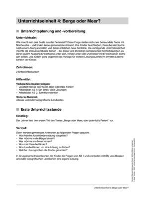 <b>Zwei Unterrichtsstunden zum Thema Konflikt im Alltag</b><br> Religion, Ethik • Grundschule • 3.-4. Klasse<br> 7 Seiten • Auer Verlag