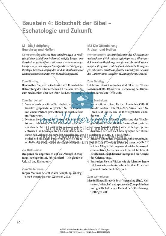 Die Botschaft der Bibel: Die Offenbarung